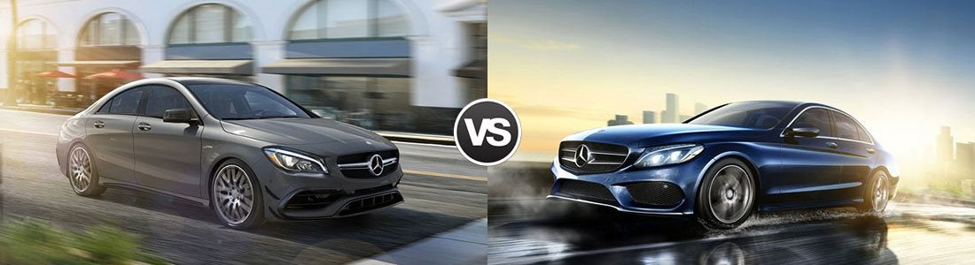 Compare 2017 Mercedes-Benz CLA 250 vs C 300